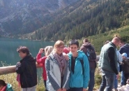 Biolodzy na wycieczce w Zakopanem